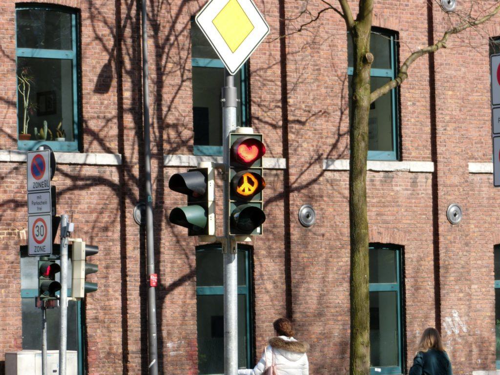 黄信号、赤信号