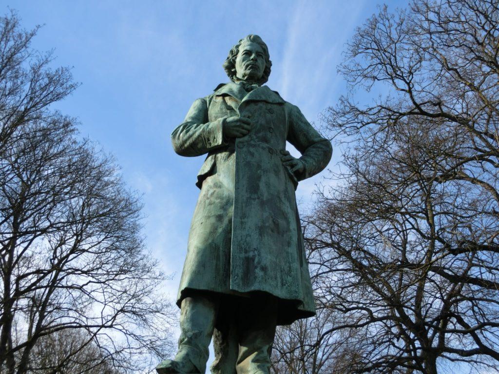 ダヴィッド・ハンゼマン記念像