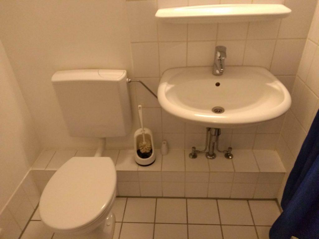学生寮 一人部屋 洗面所 トイレ